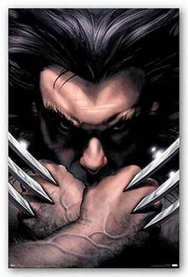 MARVEL COMIC BOOK HERO WOLVERINE PORTRAIT 22x34 NEW POSTER FREE SHIPPING