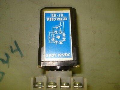 Br-1R Reed Relay  Spdt 12Vdc, Free Shipping, 30 Day Warranty