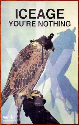 ICEAGE You're Nothing Ltd Ed Discontinued RARE Poster +FREE Indie Rock Poster!