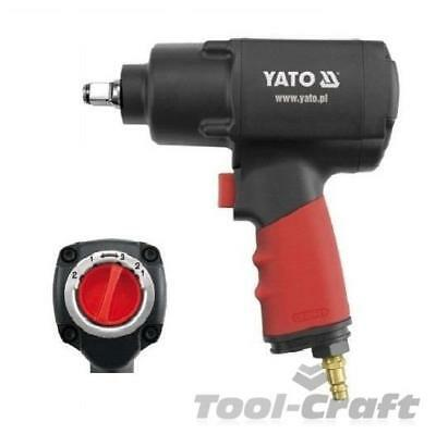 """Yato professional heavy duty 1/2"""" twin hammer air impact wrench 1356 Nm (YT-0953"""
