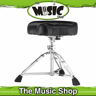 New Pearl D-2500 Motorcycle Style Cushion Drum Throne - D2500 Heavy Duty Stool