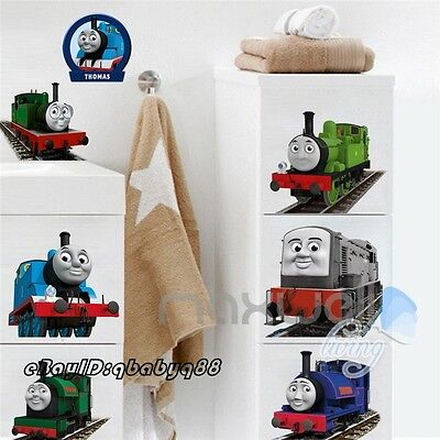 Thomas & Friends Train Removable Wall Sticker Decals Decor kids nursery mural
