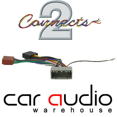 CONNECTS2 CITROEN C6 04> Car Stereo Radio ISO Harness Adaptor Wiring ...