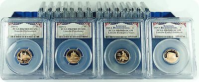 2009-S (18 set of coins) PCGS PR69RD DCAM (Presidential Labels)