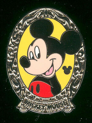 DLR 2011 Hidden Mickey Series Character Frames Mickey Mouse Disney Pin 85269