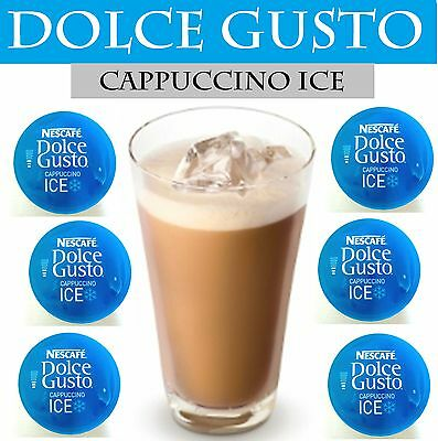 NESCAFE DOLCE GUSTO | CAPPUCCINO ICE | 6-48 Capsules | CHEAPEST ON EBAY