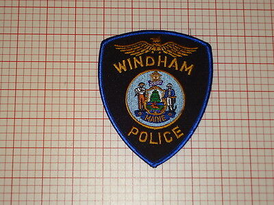 Windham Maine Police Patch