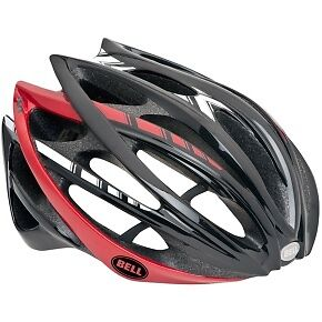 CASCO BELL GAGE BLACK RED WHITE STRIPES mis L