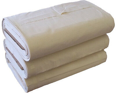 """63"""" Unbleached Cotton by the metre or by the full bolt"""