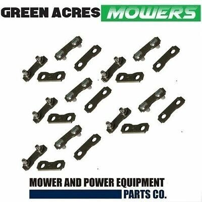 10 x CHAINSAW CHAIN JOINER LINK  FOR JOINING 91 OR 3/8 LP 050 CHAINS