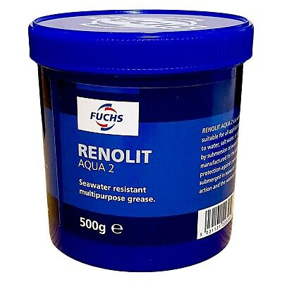 Fuchs RENOLIT Aqua 2 High Quality Water-Resistant Grease - 500g Tub