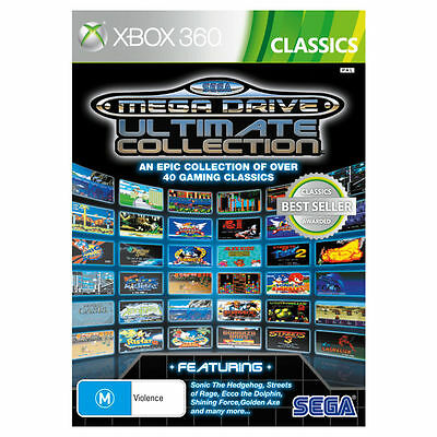 Sega Mega Drive ULtimate Collection Xbox 360 GAME PAL *VGWC!* + Warranty!