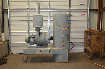 Lamson S344152X2015 SuperVac Industrial Vacuum System 15 HP Dust Collector