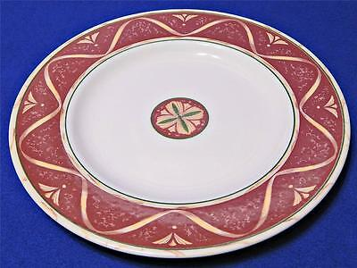 Amway Home by Wedgwood LOT of 3 SALAD DESSERT PLATES #31 wide rust rim G16