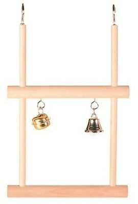 DOUBLE WOODEN SWINGING TRAPEZE (Great Value)