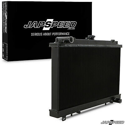 Japspeed Nissan 200Sx S14 S14A S15 High Flow Aluminium Black Race Drift Radiator