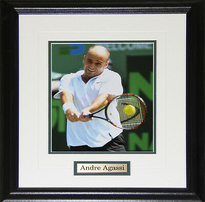 Andre Agassi Tennis 8x10 frame