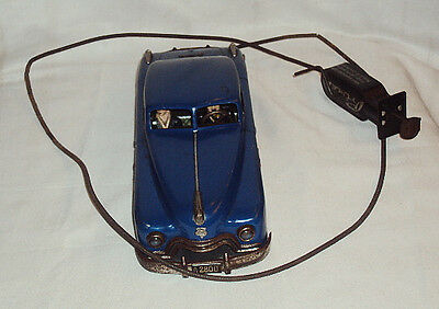 Vintage Remote Oprated Arnold Primat Tinplate Car Made In Germany circa 1950's