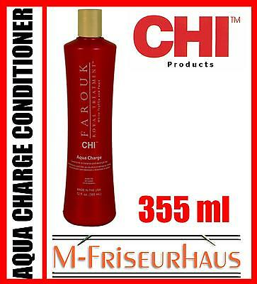 (€55,80/1L) CHI Farouk Royal Treatment Aqua Charge Conditioner aus USA 355ml