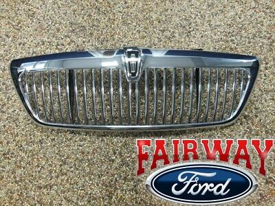 2005 Lincoln Aviator OEM Genuine Ford Parts Chrome Grill Grille w/Emblem NEW