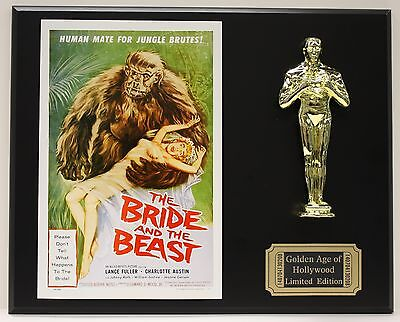 BRIDE AND THE BEAST  OSCAR MOVIE DISPLAY FREE U.S. SHIPPING