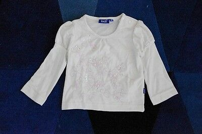 Converse baby Girl's Keds Brand Toddler tops Puffy long sleeves T shirts 12m