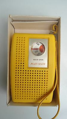 Playmate model PM-806 Transistor radio in excellent condition with box