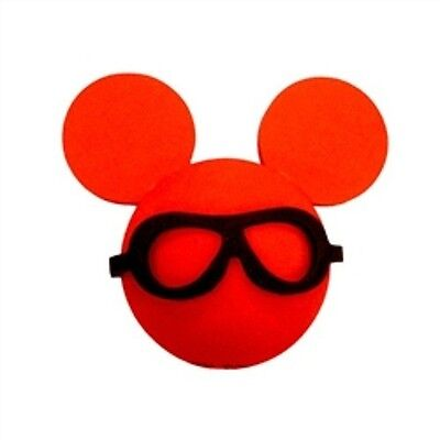 Mickey Black Glasses Antenna Toppers