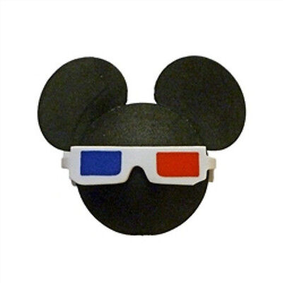 Mickey Mouse 3D Glasses Antenna Toppers