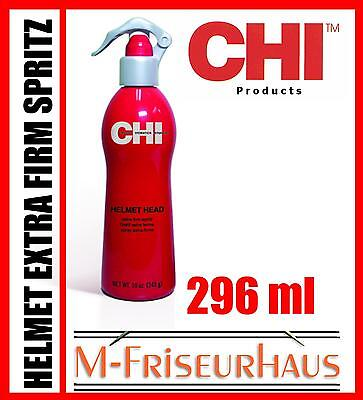 (€53,40/1L) CHI 44 FAROUK Helmet Head Extra Firm Spritz aus USA 296ml