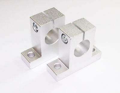 2 x 12mm Linear Rail Shaft Support CNC Router Mill Lathe DIY Parts