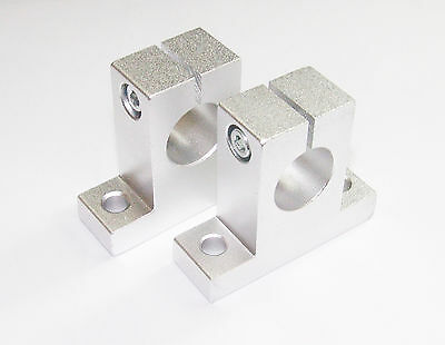 2 x 10mm Linear Rail Shaft Support CNC Router Mill Lathe DIY Parts