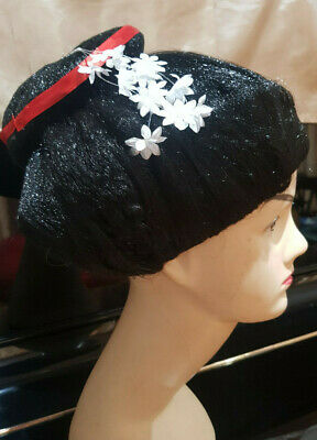 Japanese Geisha wig with chopstick party /costume