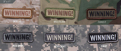 Mil-Spec Monkey Velcro Morale Patch Winning Multicam MTP UK ARMY