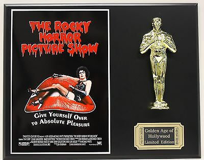 THE ROCKY HORROR PICTURE SHOW OSCAR MOVIE DISPLAY FREE U.S. SHIPPING