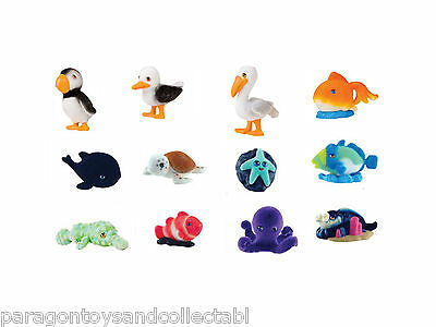 OCEAN IN MY POCKET PARADISE COVE FIGURES - Choose from 12 with collector cards