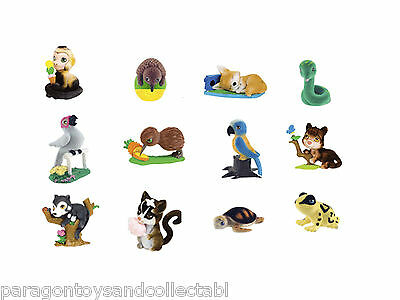 RAINFOREST IN MY POCKET FIGURES - Choose from 12 different figures