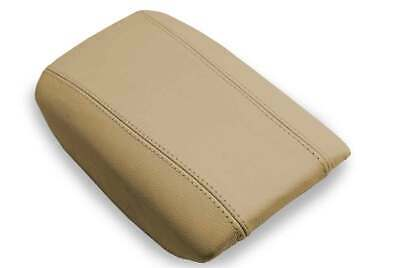 Fits 99-06 Volvo S80 Synthetic Leather (Vinyl) Console Lid Armrest Cover Tan