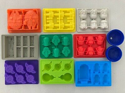 Star Wars R2D2/Darth Vader/X-Wing/Falcon/Hans Solo Silicone Ice Soap Mold Mould