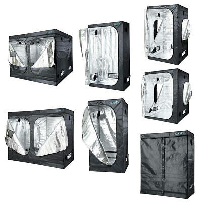 Quictent Reflective Mylar Hydroponic Grow Tent W/ Waterproof Tray Multiple Size