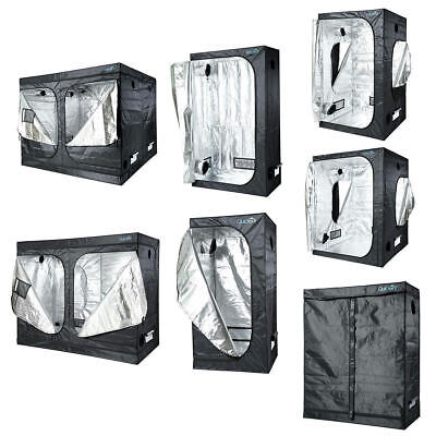 Quictent Reflective Mylar Hydroponics Grow Tent Room Box 24 32 48 60 63 78 96""