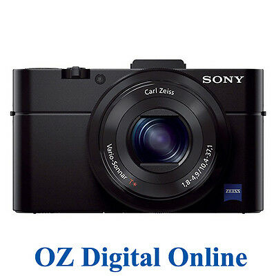 NEW Sony Cyber-shot DSC-RX100 II 20.2MP Digital Camera 1 Yr Au Wty