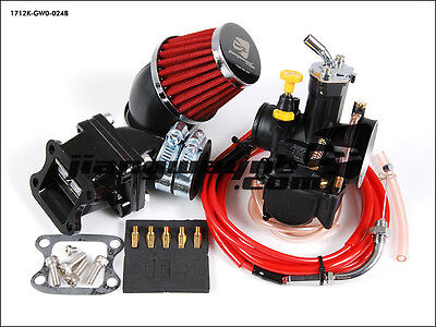 HONDA Dio ZX Joker Giorno Elite Fever DD50 - Intake PWK 24mm Carburetor Reed Kit