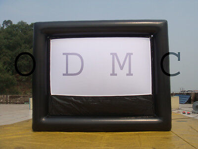 New Airtight 16X9 Vbi Inflatable Movie Screen For 2014