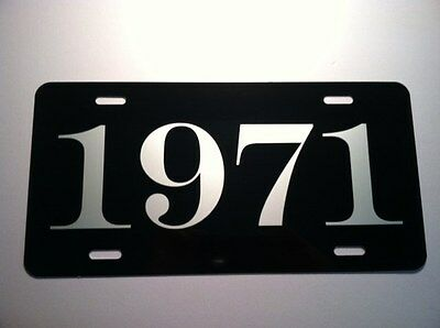 1971 License Plate Fits Cuda Challenger Dart Road Runner Charger Duster 340 R/T