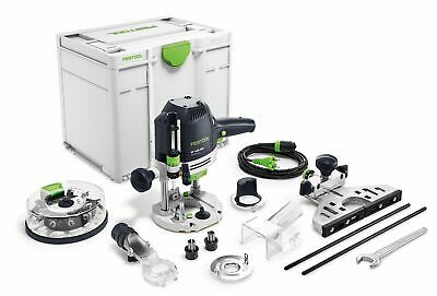 Festool Oberfräse OF 1400 EBQ-Plus + Box-OF-S 8/10x HW | 574398