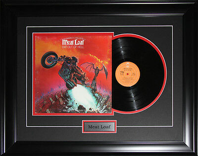 Meat Loaf music album record frame