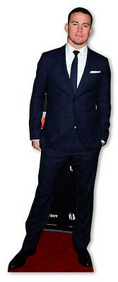 Channing Tatum Actor Cardboard Cutout Figure 179cm Tall-Great at your Party