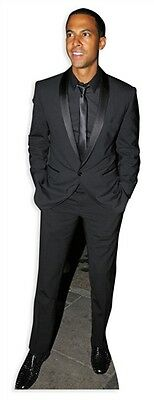 Marvin Humes Boy Band Singer Cardboard Cutout Figure 181cm Tall-At your party
