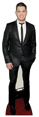 Michael Buble Singer Fun Cardboard Cutout 174cm Tall-Invite him to your Party